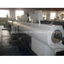 Пластичное машинное оборудование Штрангпресса 75-160мм ПП-Р Экструзионная линия для труб