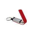 Leather Case USB Flash Drive 4GB with Custom Logo