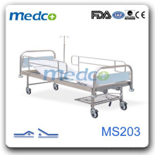 Two-crank manual useful hospital bed MS203