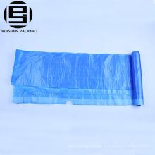 Drawstring hdpe plastic garbage bin bags