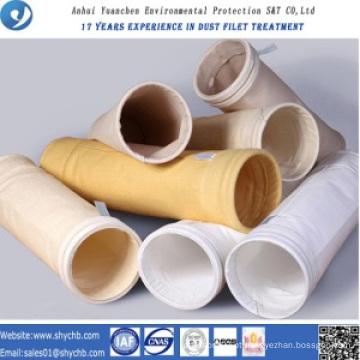 Prova de água e óleo PPS e P84 saco de filtro composto para saco de recolha de pó