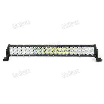 Barra de luz LED para carro de alta potência barata de linha dupla 126 W