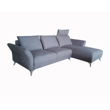 Fabric Couch Living Room Home Modern Furniture L shaped Sofa Corner