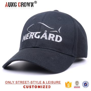 black custom cheap stylish baseball cap