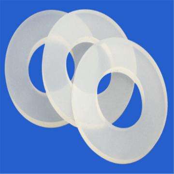 VMQ Ttranslucent Washer Metilvinil Goma de silicona
