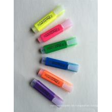 Kunststoff High Quality 6 Farben Textmarker Marker Pen
