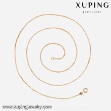 42603-bijoux de fantaisie et chaines de boîtes en or 18 carats