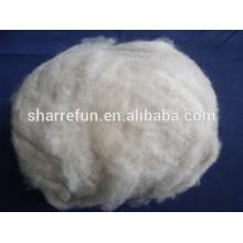 Pelo de lana de cabra mongol 100% puro depilado