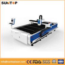 Máquina de corte do laser do metal da indústria da propaganda / máquina de corte do laser da fibra barata