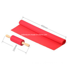 Silicone Rolling Pin and Mat