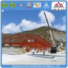 Construction en acier de structure en acier à colonne de type H flottante mobile