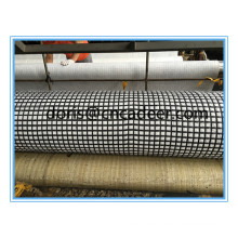 Fiberglass Geogrids Composite with Geotextile