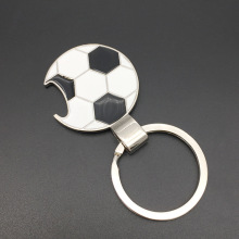 OEM Factory for Personalized Metal Keychains Football Shape Keychain with Bottle Opener supply to France Manufacturers
