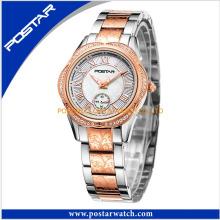 Flower Shape Swiss Diamond Fine Ladies Watch