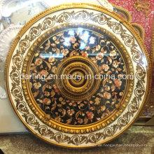 Runde PS Dekorative Material Platte Decke Medaillon