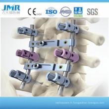 Vis pédiculaire mono -axiaire de 5,5 mm pour la fixation spinale interne