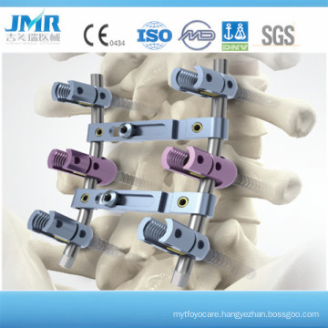 Uss Surgical Implants Multi -Axial Pedicel Screw Spinal Screw Spinal Fixation System Pedicle Screw System Spinal Crosslink