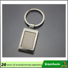 Porte-clés en métal blanc gros usine