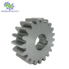 Engranaje de espiral de transmisión de alta potencia hecho precisamente