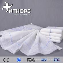 esponja abdominal do regaço do laço do azul da qualidade superior com absorvência líquida