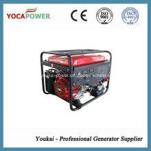 Gerador de gasolina monofásica de uso doméstico 6kw