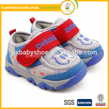 2015 Real Patch Hook & Loop (velcro) Baby Boy Tpr Chaussure Enfant Новый продукт Модный симпатичный Хлопок Новорожденный Мальчик Обувь