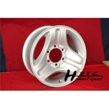 Nuevo 2014 nuevo diseño 16 pulgadas de plata suv de la reproducción y fuera de la rueda del camino
