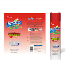 Spray limpiador de alfombras y telas para tráfico alto / pesado