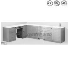 Ysja-Lo-02 Cabinet combiné de l'hôpital Instrument médical