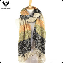 Bufanda de gran tamaño para mujer de invierno