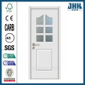 JHK Decorative Bathroom Tempered Glass Interior Door