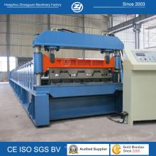Профилегибочная машина для производства настилов металлического пола в течение всего срока службы с ISO