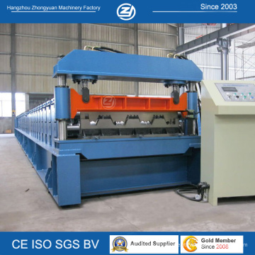 Máquina formadora de rolos de piso de metal para serviço vitalício com ISO