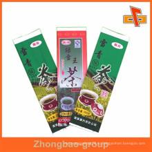 Различные виды упаковки из китайской чайной пакетики
