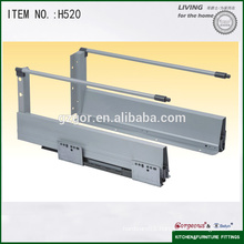 heightened soft closing tandem box sliding rail