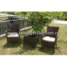 Outdoor Wicker Furniture 3 Piece dining Set