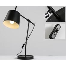 Flexible Lamp Body Iron Black Table Lamp