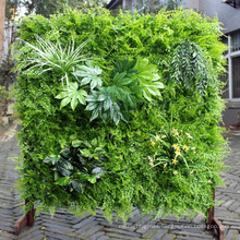 DIY artificial indoor vertical garden green wall with CE Certificate
