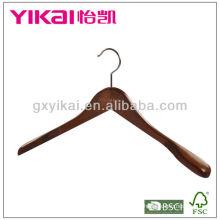 Luxury wooden coat hanger