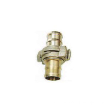 Factory supply types of brass fire hose couplings