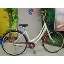 Elfenbein-Farben-heiße Verkaufs-erwachsene Fahrräder (FP-LDB-019)