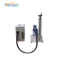 Machine de gravure de marquage laser à fibre portable 20W 30W