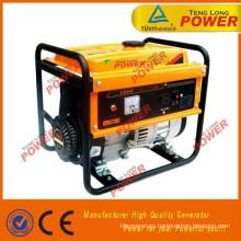 generador de energía eléctrica de combustible gasolina super silenciosa en venta caliente
