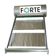 Colector de calentador de agua solar sin presión de acero inoxidable (150L)