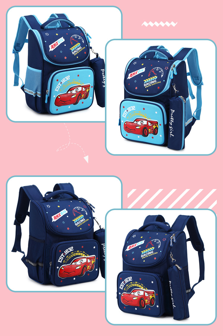 Primary school bag children's 3d backpack cartoon backpack (3)