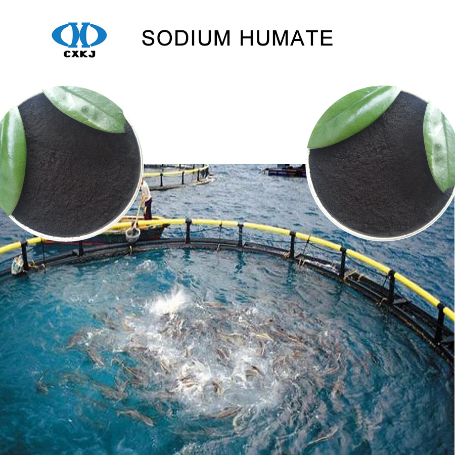 Sodium humate powder/crystal/flakes for Aquaculture