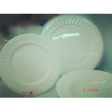 super quality embossed restaurant hotel royal fine porcelain bone china