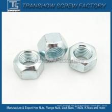 Verzinkte DIN980V Metallschloss-Sechskantmutter