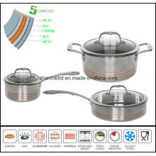All Clad Copper Core Steel Cookware Set