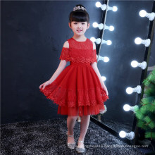 Capped Sleeve Lace Flower Girl Dress